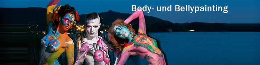 Bodypainting und Bauchbemalung