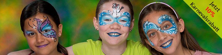 GRIMAS Water Make up als Karnevalsschminke und Faschingsschminke